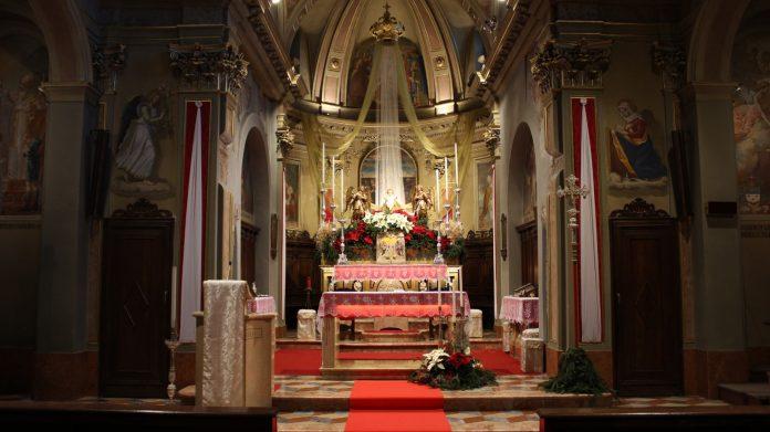 San Pellegrino, Chiesa di Santa Croce